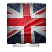 British Flag 17 Shower Curtain