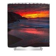 Campelo Beach Galicia Spain Shower Curtain