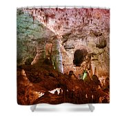 Carlsbad Cavern Shower Curtain