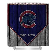Chicago Cubs Shower Curtain