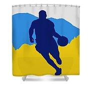 Denver Nuggets Shower Curtain