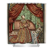 Elizabeth I (1533-1603) Shower Curtain