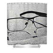 Eyeglasses Shower Curtain