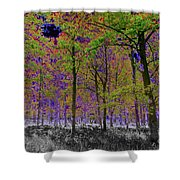 Forest Art Shower Curtain