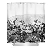 Little Bighorn, 1876 Shower Curtain