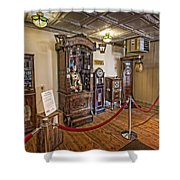 10 Million Dollar Fortune Teller Penny Arcade Game C. 1900 Shower Curtain