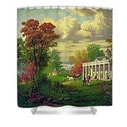 Mount Vernon Shower Curtain