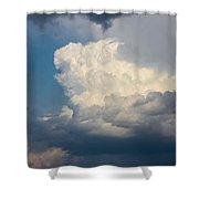 Nebraska Storm Cells A Brewin Shower Curtain