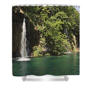 Plitvice Lakes National Park Croatia Shower Curtain