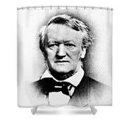 Richard Wagner (1813-1883) Shower Curtain