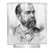 Robert Koch (1843-1910) Shower Curtain