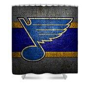 St Louis Blues Shower Curtain
