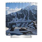 Swiss Alps Shower Curtain