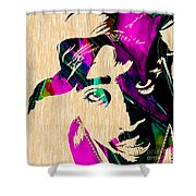 Tupac Collection Shower Curtain