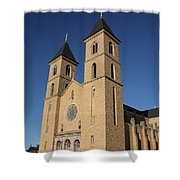 Victoria Kansas - Cathedral Of The Plains Shower Curtain