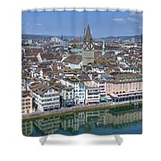 Zurich Shower Curtain