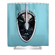 57 Chevy Detail Shower Curtain