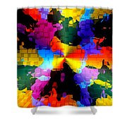 1000 Abstract Thought Shower Curtain