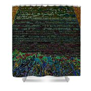 1000 Flowers On 1000 Steps Shower Curtain