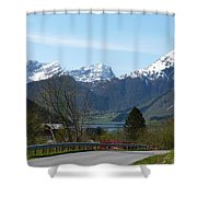 1000m Shower Curtain
