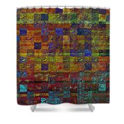 1030 Abstract Thought Shower Curtain