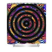 1043 Abstract Thought Shower Curtain