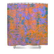 1061 Abstract Thought Shower Curtain