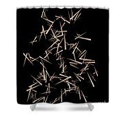 1063 Abstract Thought Shower Curtain