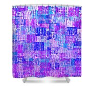 1065 Abstract Thought Shower Curtain