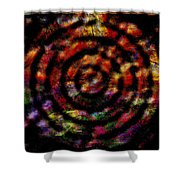 1066 Abstract Thought Shower Curtain