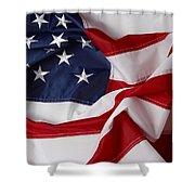 American Flag 34 Shower Curtain
