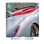 1960 Chevrolet Corvette Shower Curtain