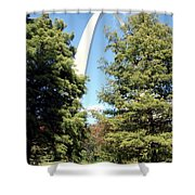 Arch To The Sky Shower Curtain