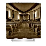 Church Of Saint Columba Shower Curtain