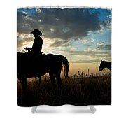 Cowboys Shower Curtain