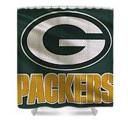 Green Bay Packers Uniform Shower Curtain