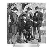 Jefferson Davis (1808-1889) Shower Curtain