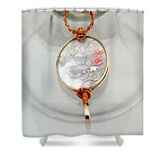 Jewelry Shower Curtain