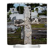 Key West Cemetery Shower Curtain