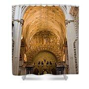 Mezquita Cathedral Interior In Cordoba Shower Curtain