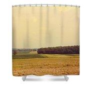 Michigan Landscape Shower Curtain