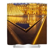 Musee Du Louvre Shower Curtain