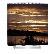 Outer Banks North Carolina Sunset Shower Curtain