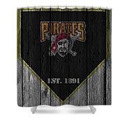 Pittsburgh Pirates Shower Curtain