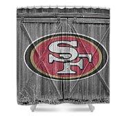 San Francisco 49ers Shower Curtain