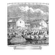 Second Opium War, 1860 Shower Curtain