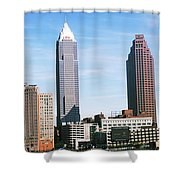 Skyscrapers In A City, Philadelphia Shower Curtain
