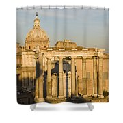 The Roman Forum Shower Curtain