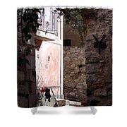 Views Of Taormina Sicily Shower Curtain