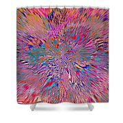 1106 Abstract Thought Shower Curtain